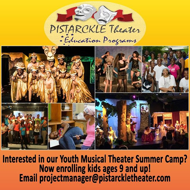 #Youth #Summer #MusicalTheater #Camp now accepting pre-registration for ages 9 and up! Email projectmanager@pistarckletheater.com to begin the process. #stthomas #stjohn #kidsactivities #theater #theatre #acting #usvi #actorslife #childactor #artseducation #summercamp #summeractivities