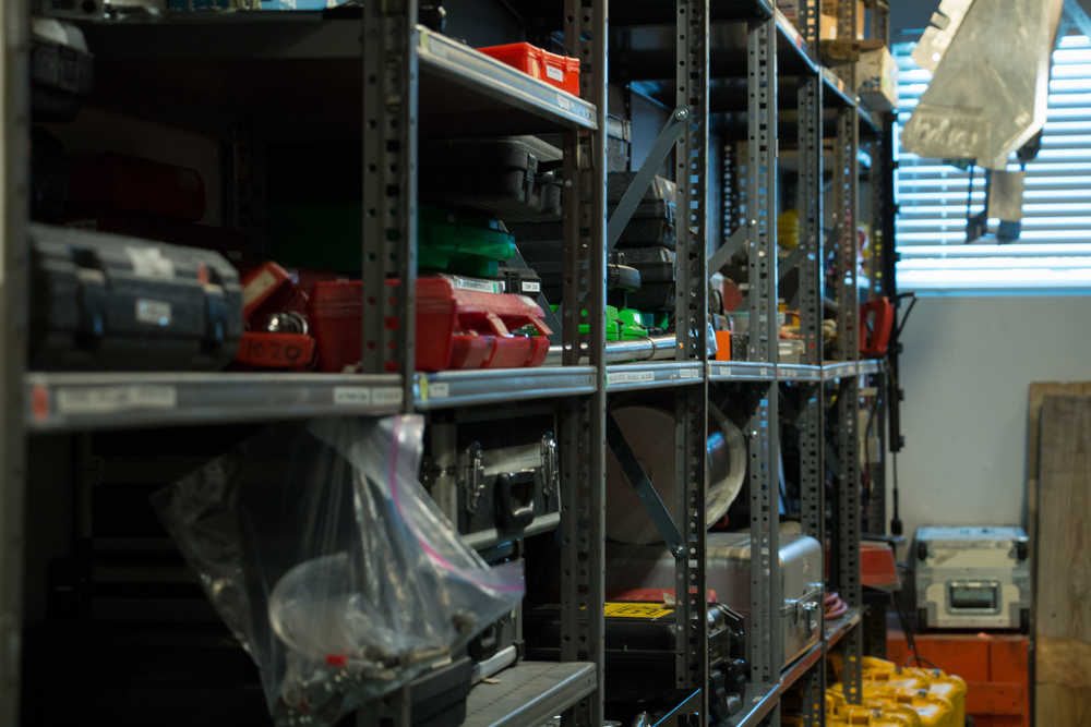 We maintain a fully stocked   Parts    Department    Store