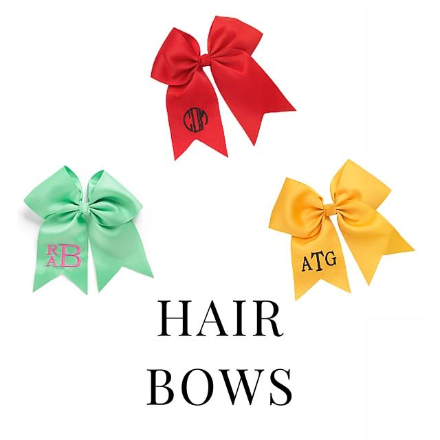 SHOP HAIR BOWS