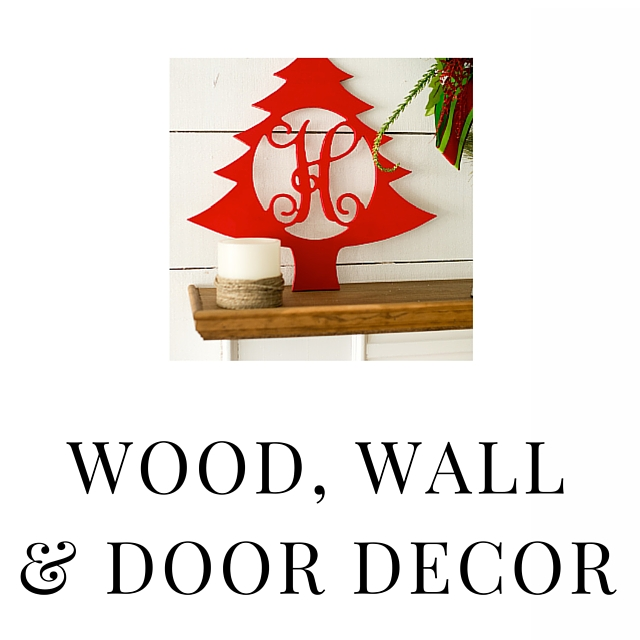SHOP WOOD WALL & DOOR DECOR