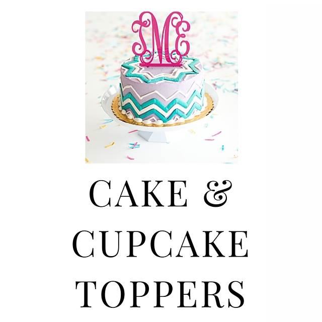 SHOP CAKE & CUPCAKE TOPPERS
