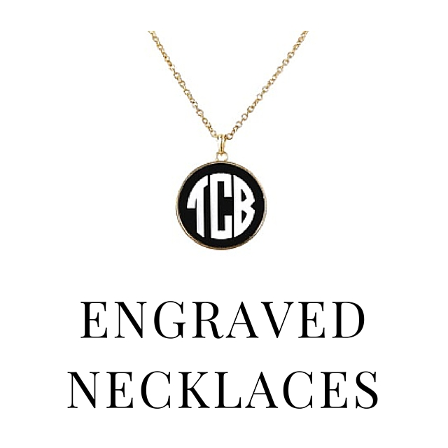 SHOP ENGRAVED NECKLACES