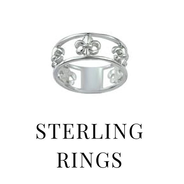 SHOP STERLING RINGS
