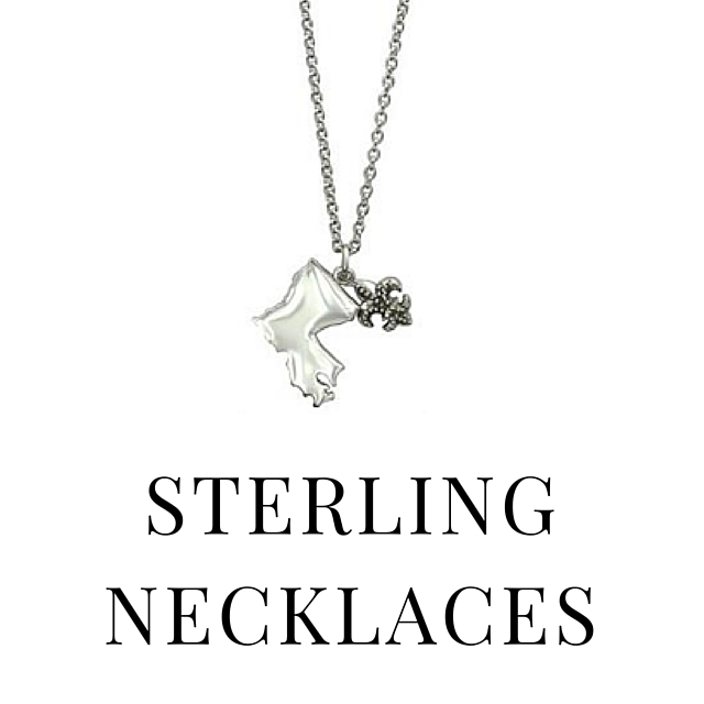 SHOP STERLING NECKLACES