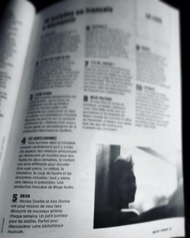 Honorés d'être dans cette liste des 10 balados en français à découvrir de @lactualite_qc! 🙏🏿🙏🏼