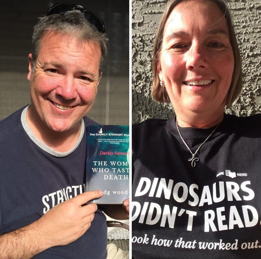 A Book Club name if ever I heard one!  Dinosaurs Didn't Read Club.