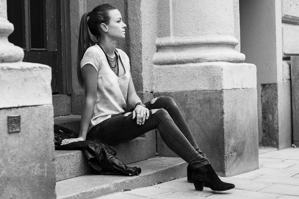 Frida Ahlvarsson, Co-Founder and Head Designer of the Swedish fashion brand Ahlvar