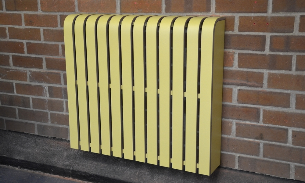 'Saffron' Laminate Radiator Cover