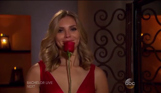 The last time Olivia was ever happy. Probably because flowers are delicious.