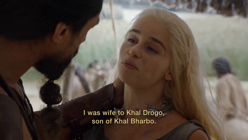 He was the son of Khal Beardo. Ha ha ha.