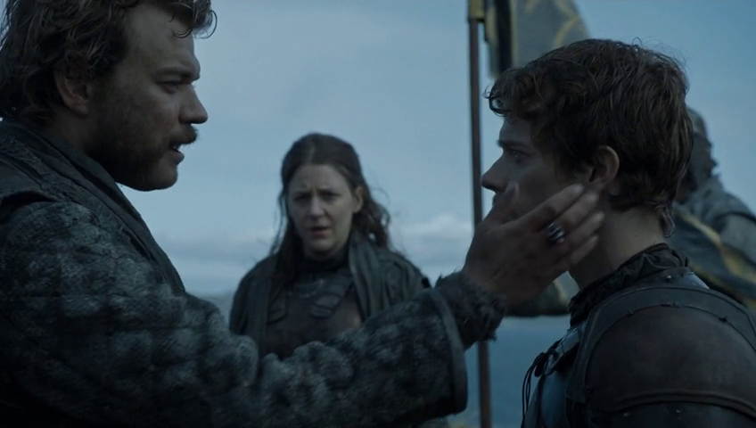 Yara lost the kingsmoot, Euron lost all his ships. Idiots.