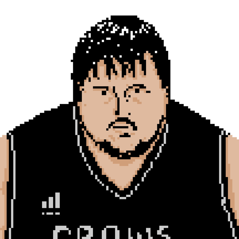 Samwell Tarly is pretty bad at fighting for real.