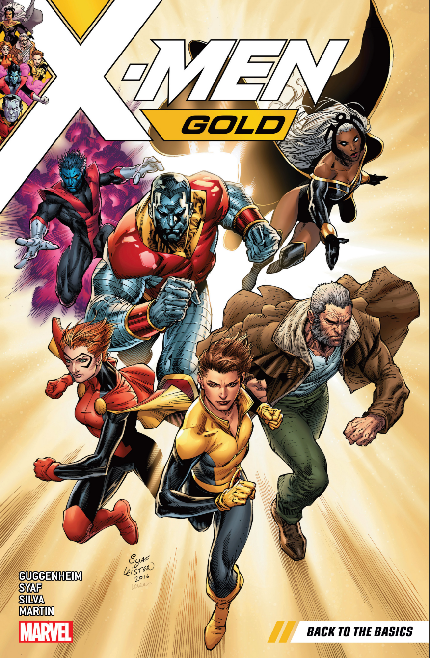 X-Men Gold volume one (Marvel Comics)