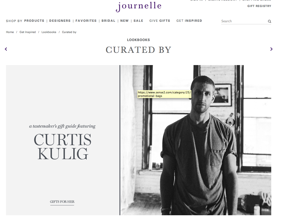 check out curtis' favorite holiday picks for her as today's featured tastemaker for journelle. see it here now
