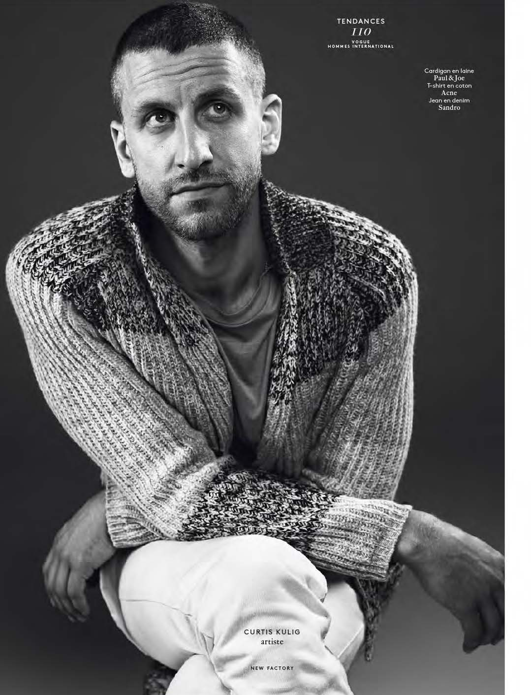 vogue hommes by josh olins