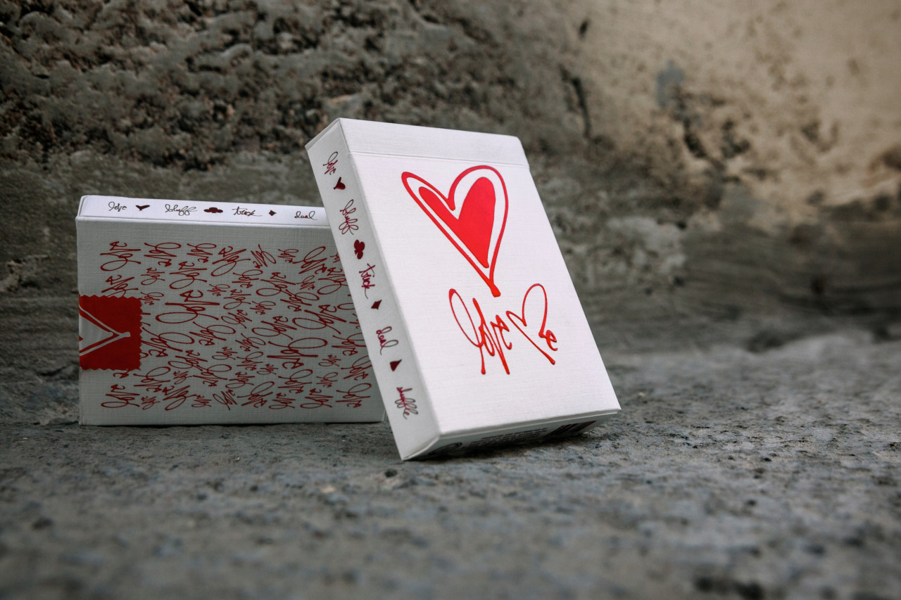 Love Me X Theory 11 http://www.theory11.com/playingcards/love-me