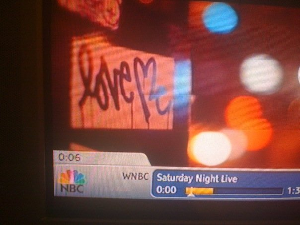 Love Me on Saturday Night Live's opening credits.