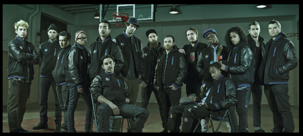 Nike NYC Destroyers Class Photo