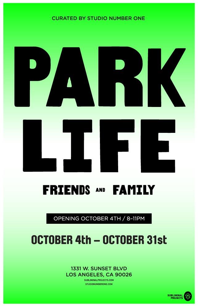 Curtis Kulig Park Life Show.