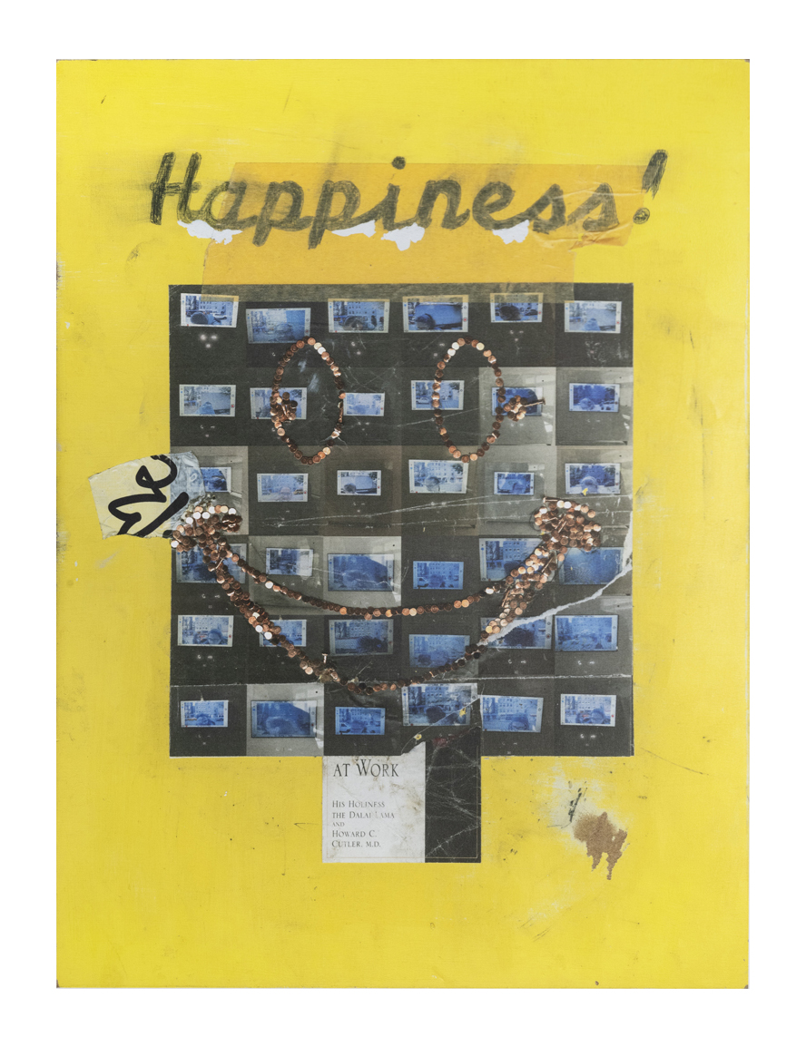 Happiness, 2018  mixed media  78 x 60 inches