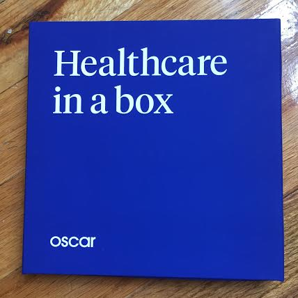 "My Oscar Health ""welcome"" box did a good job ""nudging"" me to want to make a doctors appointment. What a slick design! Actually, maybe it was just the design... ;)"