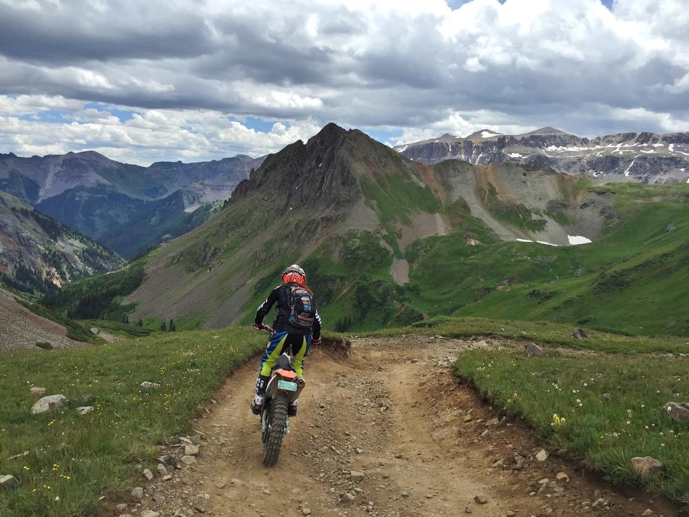 Colorado 2015: Looking towards Stony Mountain