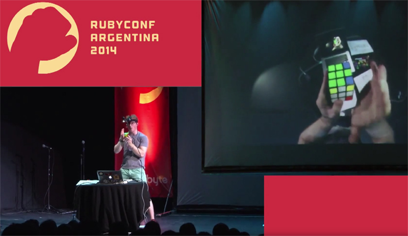 Chris Hunt - Solving the Rubik's Cube Blindfolded - RubyConf Argentina