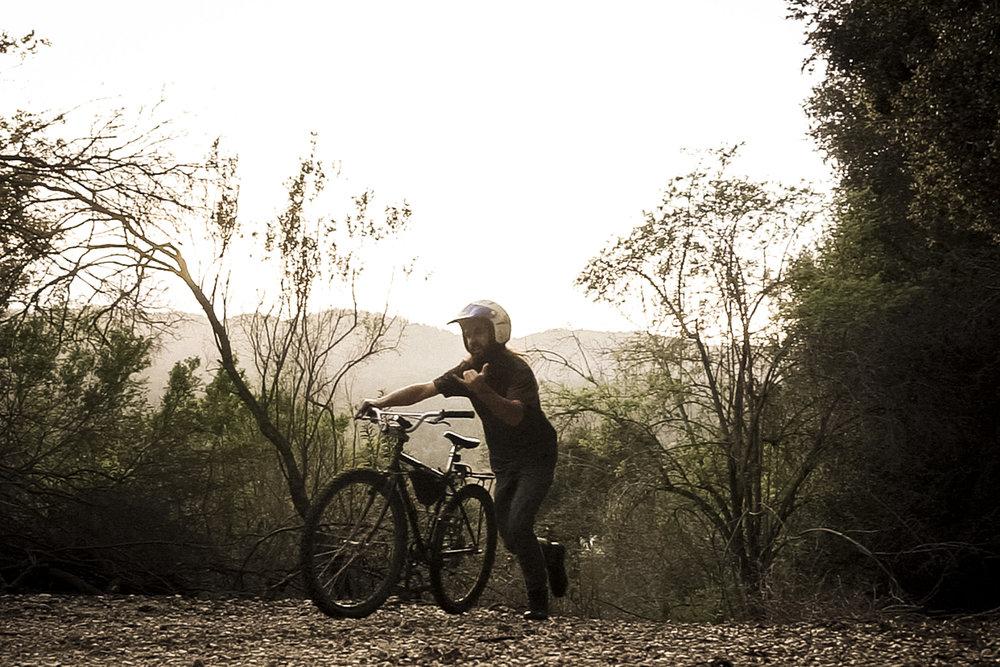 Santa Cruz Mountains on the hardasses bike