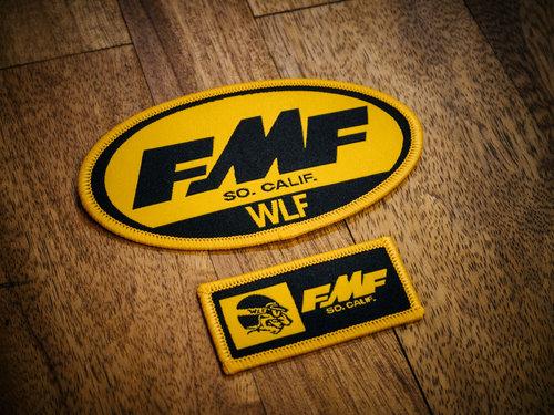 Limited Edition - WLF    FMF Patch Set — WLF Enduro 87f9af409844