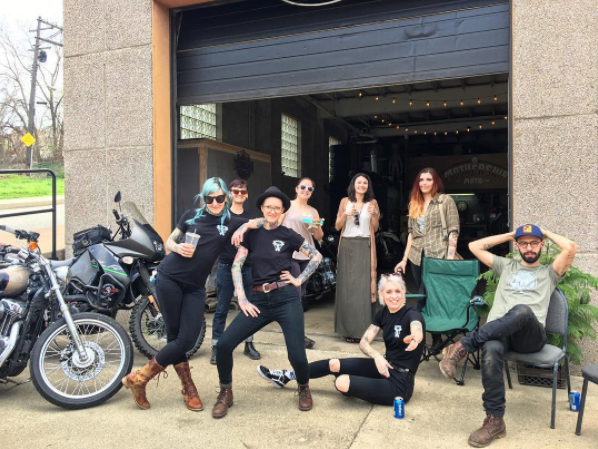 The Maulies Ladies Season Kickoff Party held at Mothership Moto
