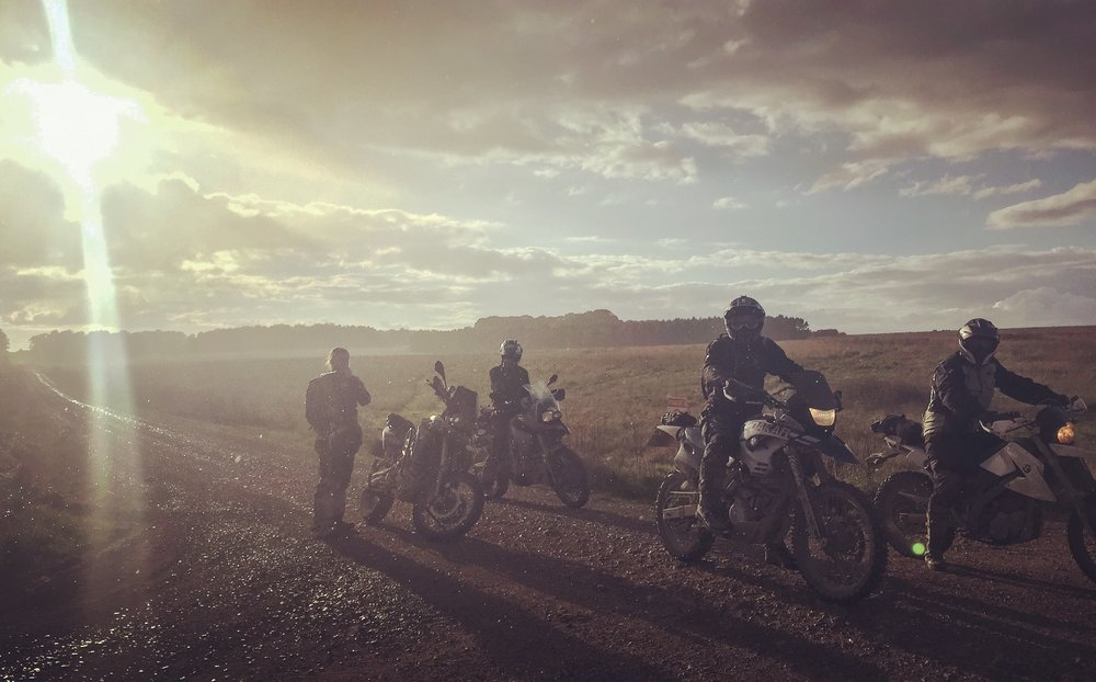 Riding with friends is what it's all about