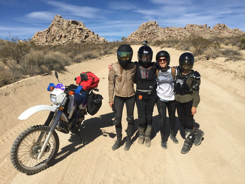 Dualsport Women in Joshua Tree