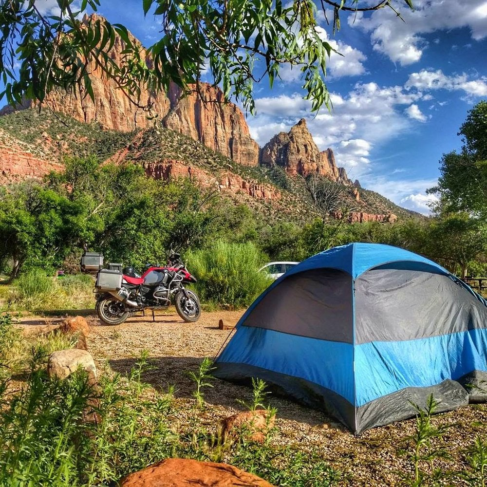 Camping in Zion