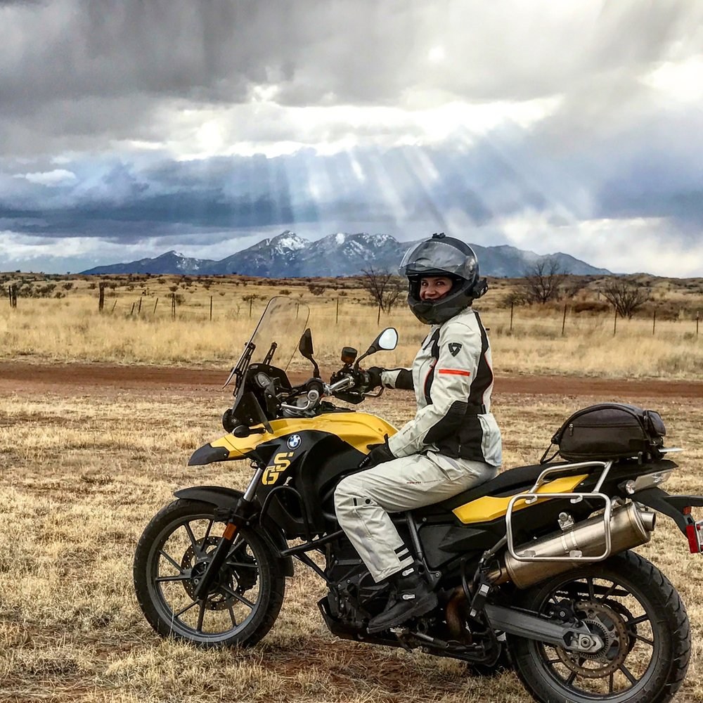 Bumblebee f650gs with standard suspension
