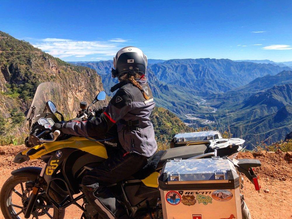 dirt road to Urique November 2018
