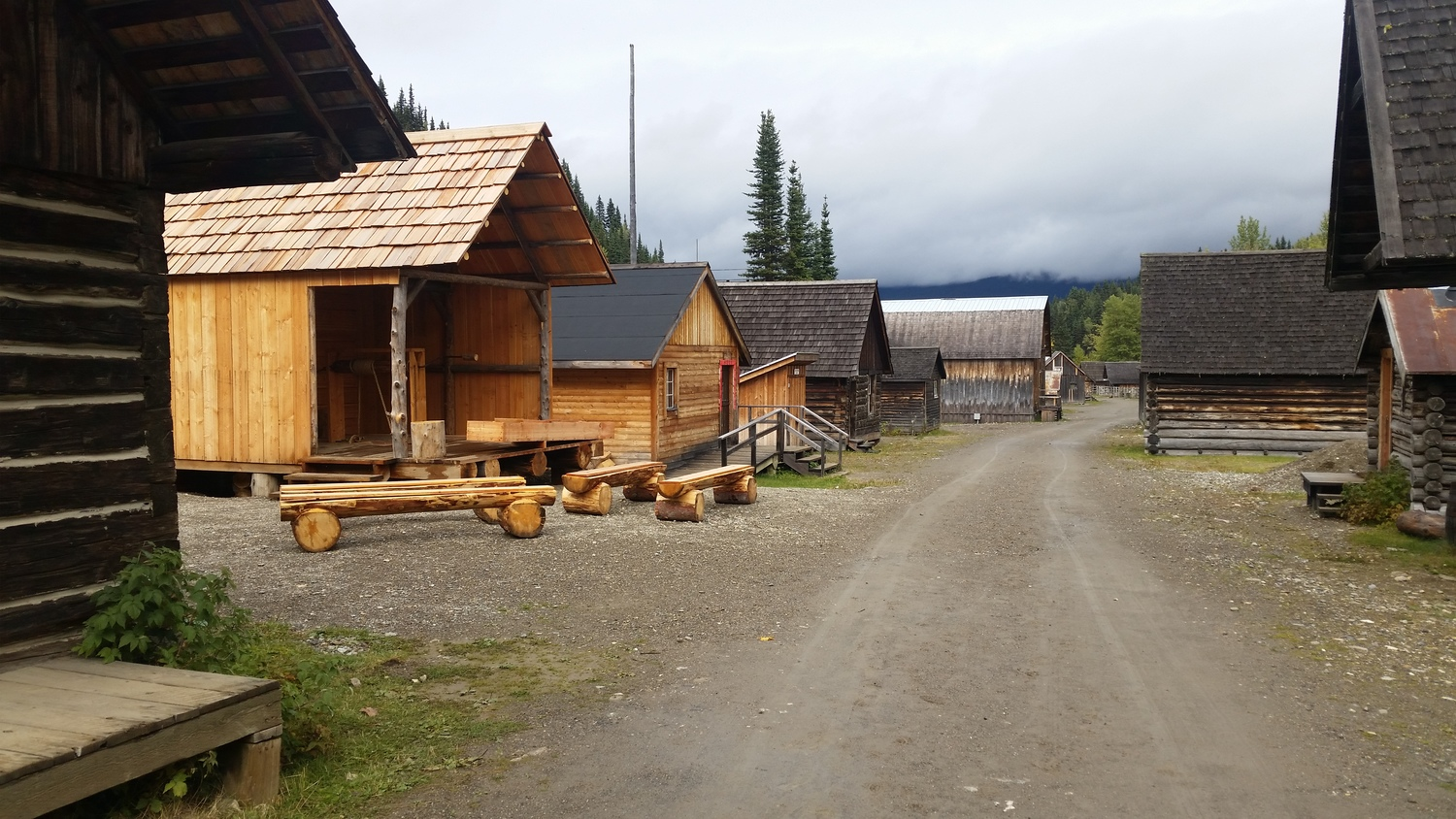 Barkerville B C  — rolling with the paynes