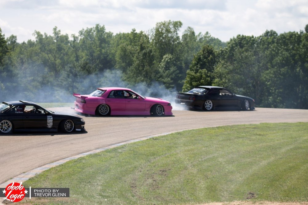 This isn't just any other drift shindig; Final Bout has a couple requirements that hopeful participants sometimes overlook. First off, you must have a team of three or more cars. Nobody enjoys watching a single car go out on a track and run hot laps – not for any extended period of time, that is. Secondly, your car can't look like a rolling dumpster. It may   be a well-polished turd, but no rolling dumpster. And as these events progress, the cars just keep getting cooler and cooler, and that even applies to those that don't participate.