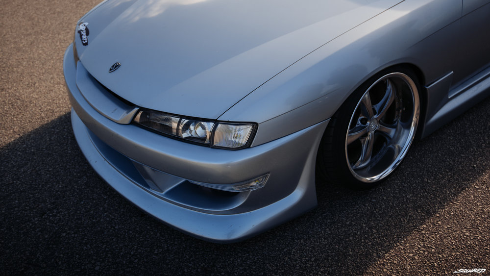 Machine Check(S14) - Engine: S14 SR20DETTurbo: S15 T28PS: 300Footwork: Parts Shop Max coilover, GP Sports knuckleCooling: Koyo radiator, Parts Shop Max intercoolerAero: GP Sports