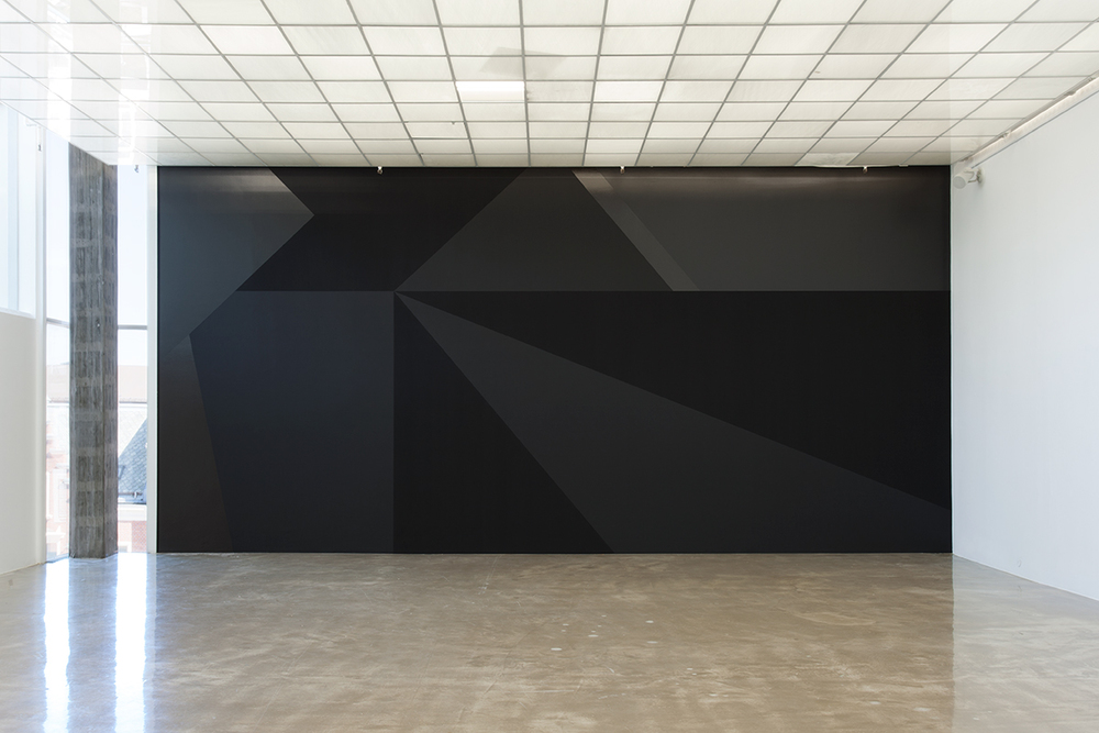 Unfolded Shape Drifter Installation view Kristiansand Kunsthall, 2015
