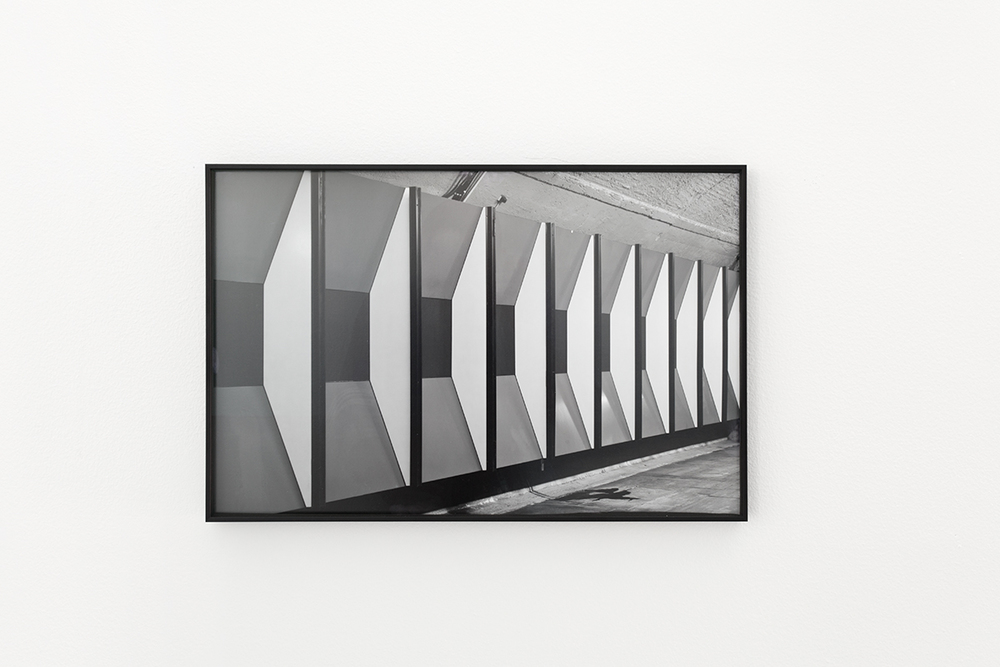 Grayscale (documenting architecture )#1  Installation view Kristiansand Kunsthall, 2015