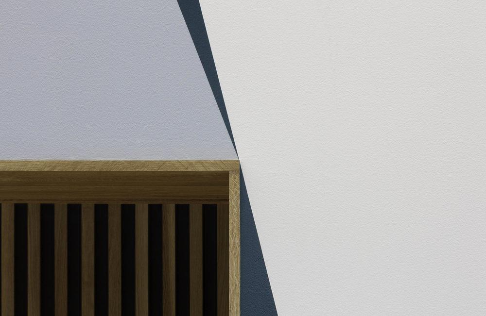 Skogssøyler, ( detail, doorframe )