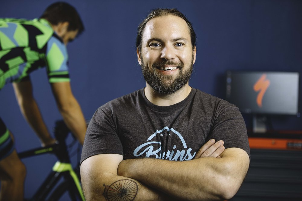 Matthew Blevins of Blevins Bicycle Co.