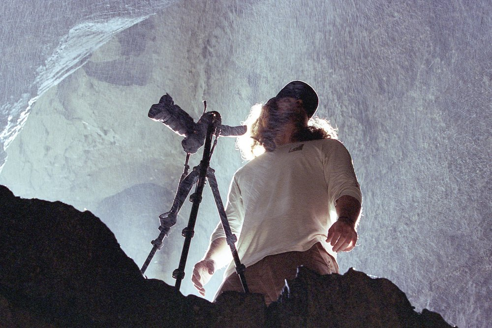 Matt Pittman / Jeff Rose / Stephens Gap Cave / Kodak Portra 400