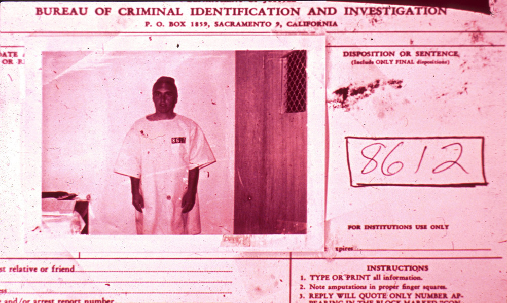 Mugshot of Prisoner #8612