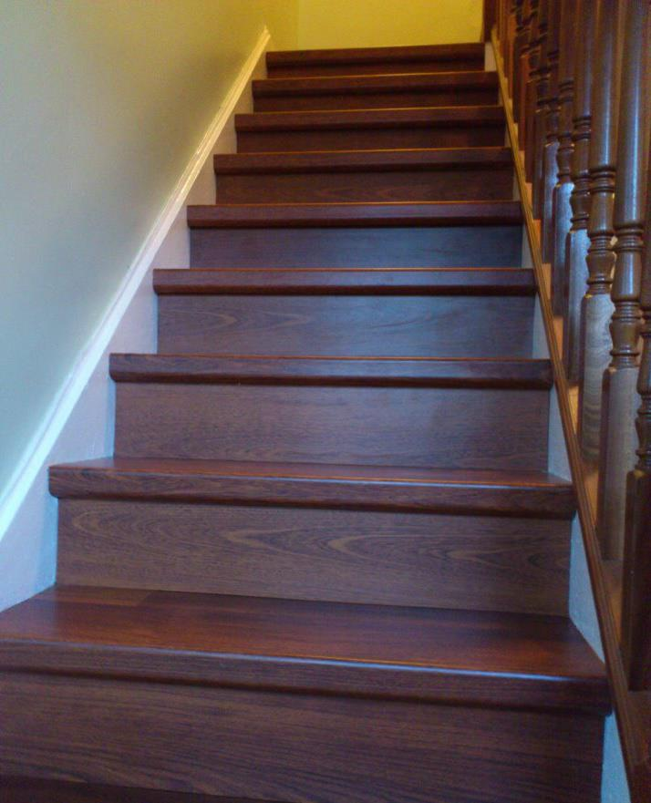 Quick Step Stair Renovation