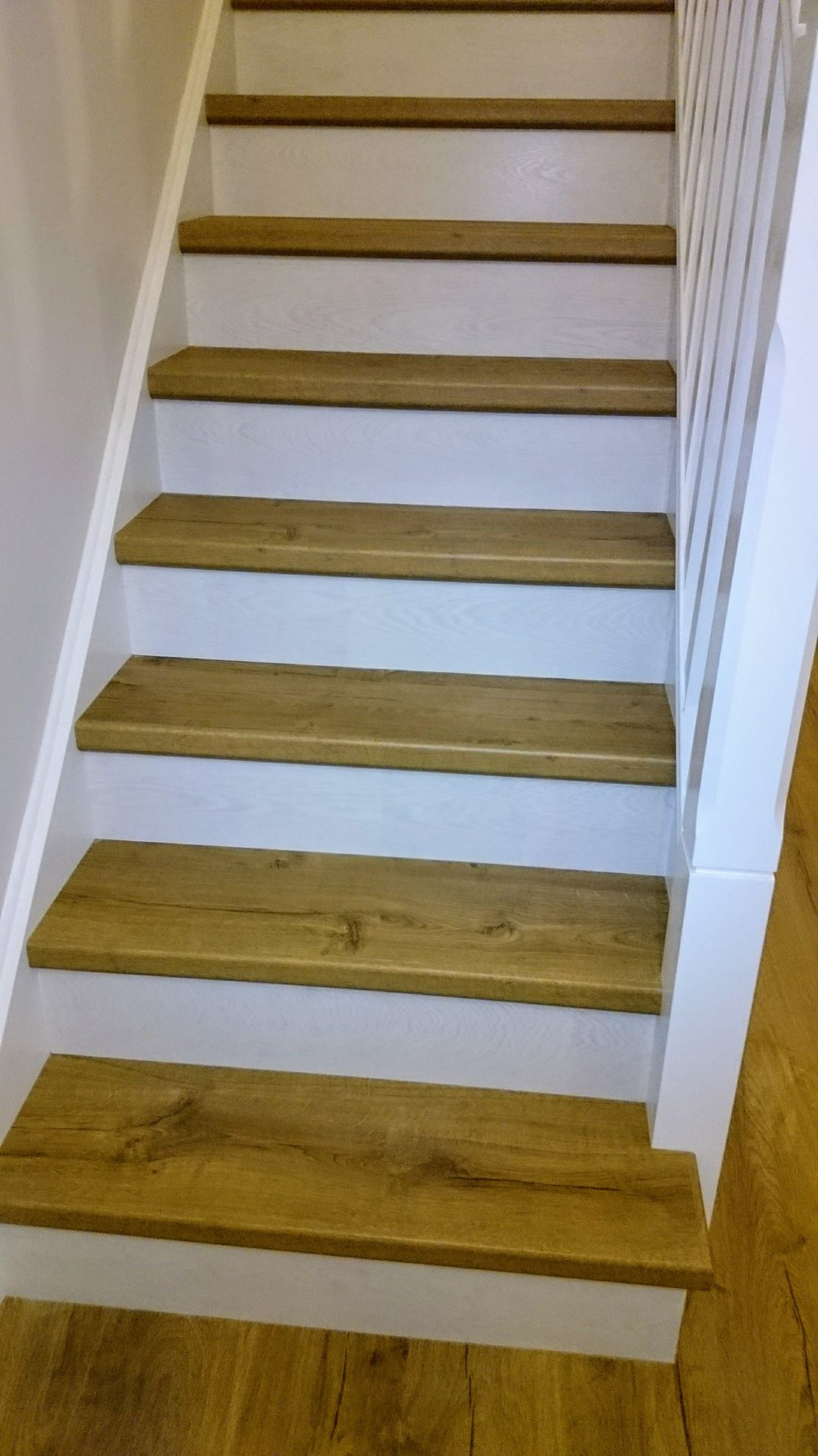 CLASSIC OAK NATURAL Quick-Step Floor IMPRESSIVE RANGE ON STAIRS by http://www.BARGAINFLOORING.ie  #LoveMyQuickStep at www.Belltree.ie , Clongriffin , Dublin13 , North Dublin City . This is 3 Bedroom 'A '-rated home built by www.gannonhomes.ie development .