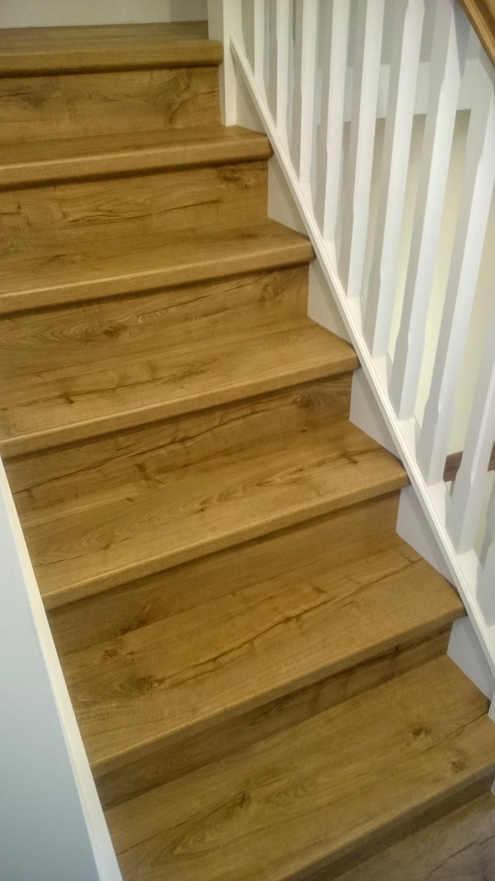 Quick-Step Impressive laminate stairs by www.bargainflooring.ie  supplied and fitted at Parkside Homes New Development (Balgriffin) , http://parksidehomes.ie/ , off Malahide road , Dublin 13