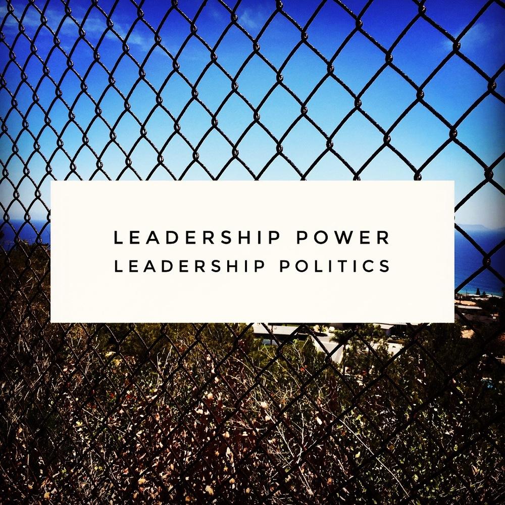 Leadership Power, Leadership Politics