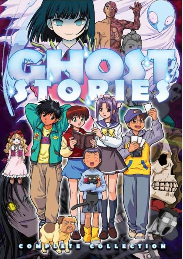 Ghost Stories: Perhaps The Best-Dubbed Anime Around — TOKYOPOP