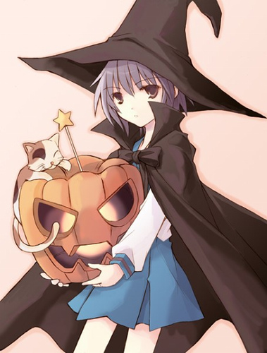 AnimeHalloweenWitch